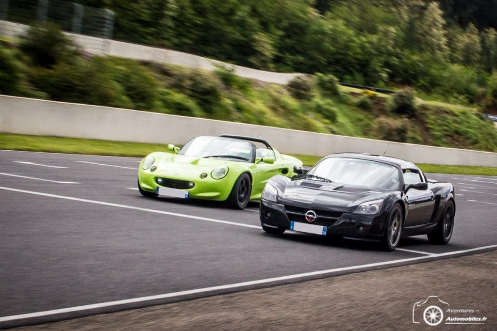 International Speedster Meeting 2019 - Lotus Elise et Opel Speedster
