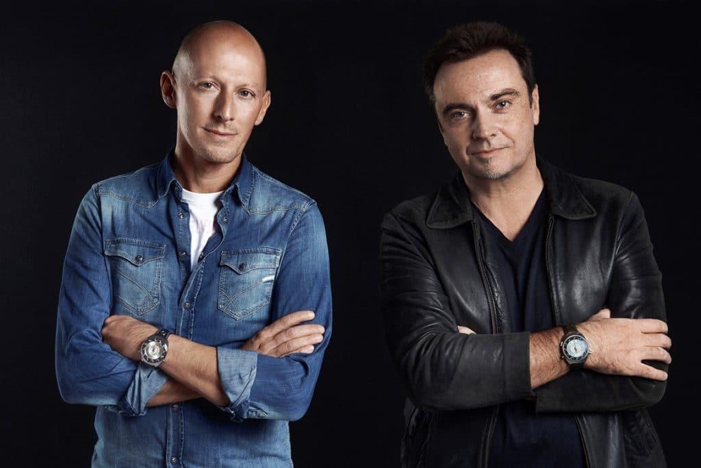 Marco Borraccino et Rob Dickinson - Singer