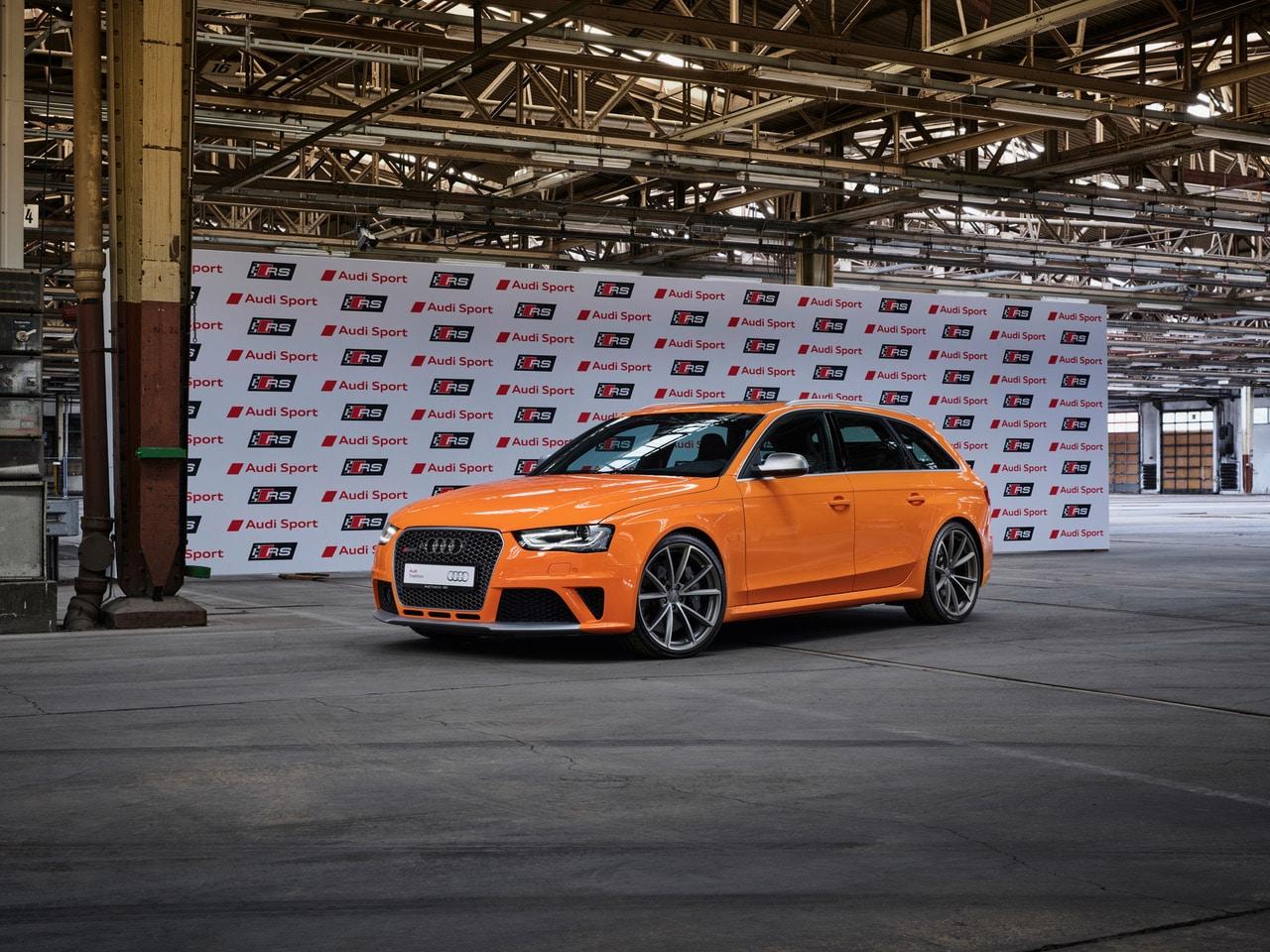 Audi Sport 25 ans de modèles RS