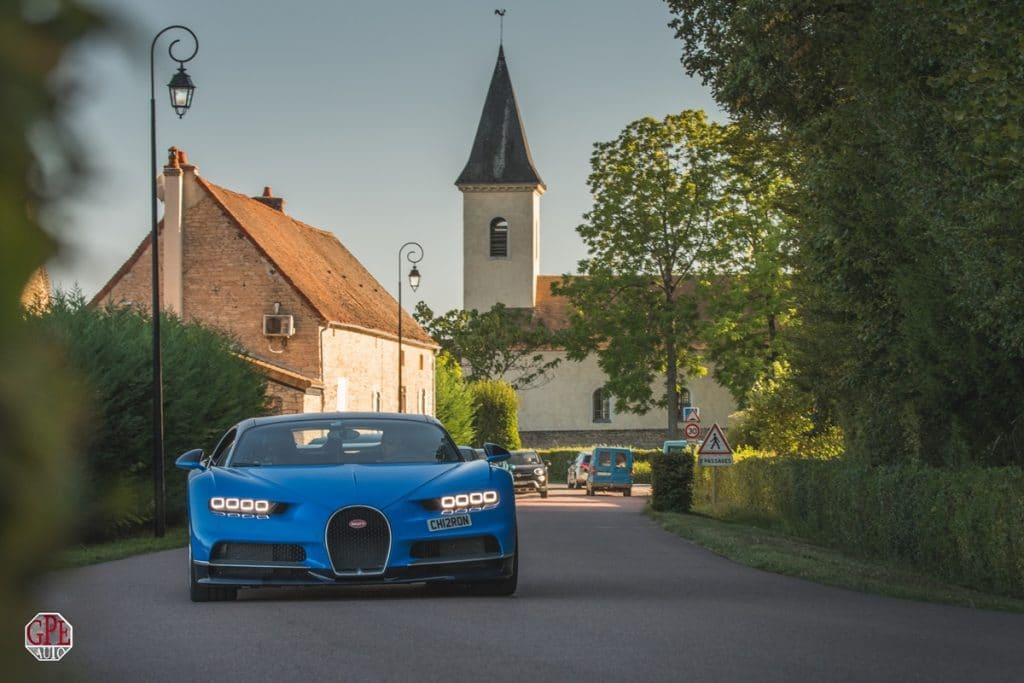 Bugatti Grand Tour 2019 - Aix - Beaune - Pierre Emmanuel Alain