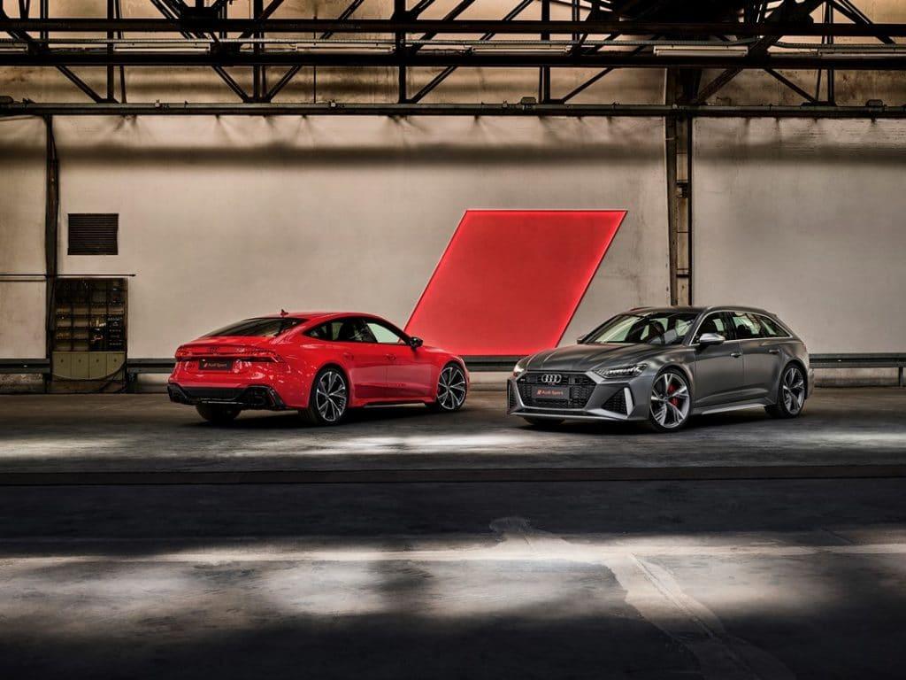 Audi RS7 Sportback et RS6 Avant