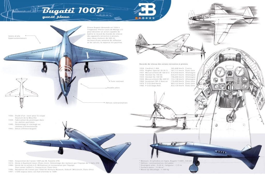 Bugatti Model 100P - Laurent Negroni
