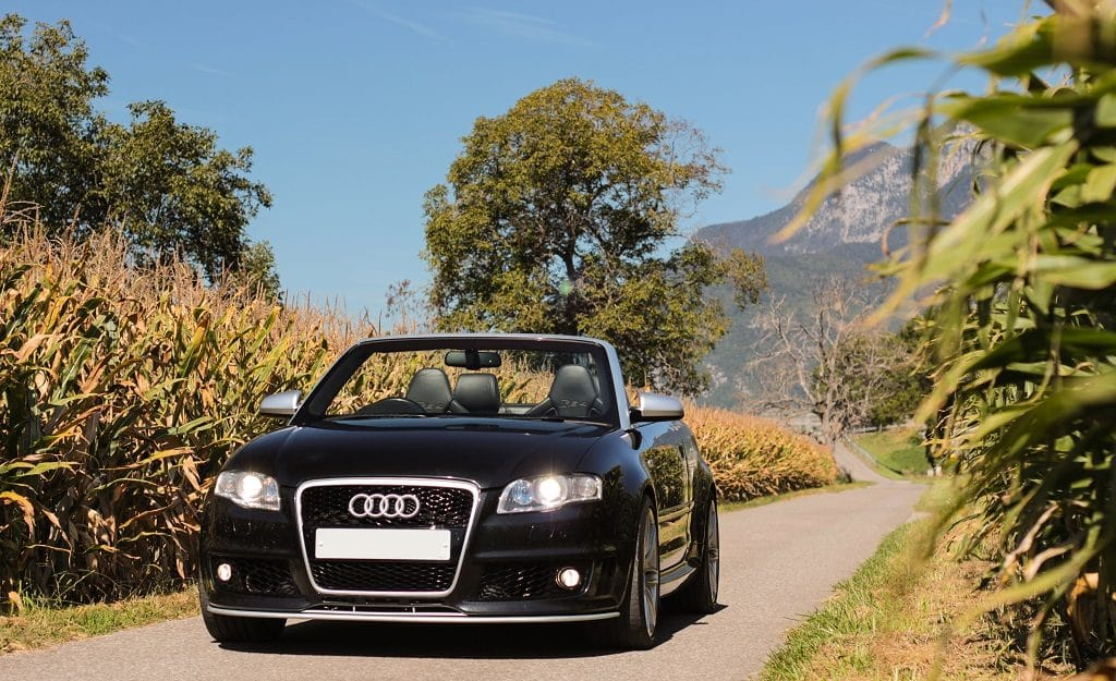 Audi RS4 (B7) cabriolet 2008