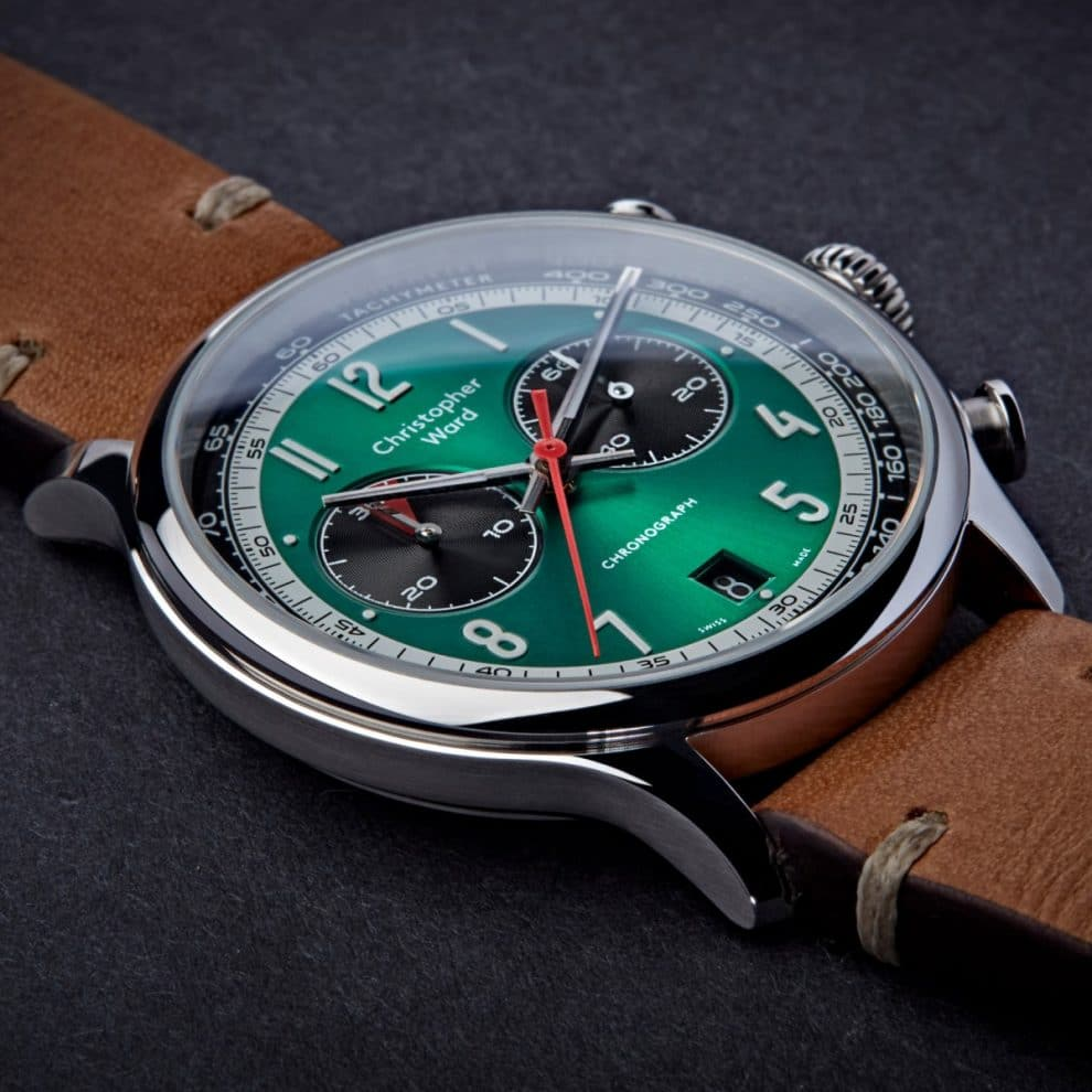 Christopher Ward C3 Grand Tourer British Racing Green