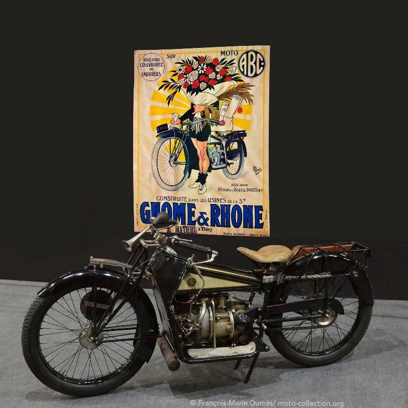 GNOME & RHONE - ABC 400 VICTORIEUSE DES GRANDS PRIX DE FRANCE 1921 ET 22 © FRANCOIS-MARIE DUMAS