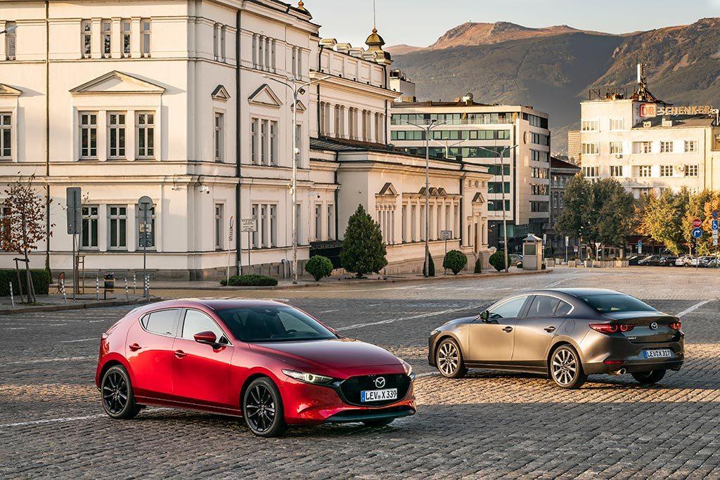 Mazda 3 Skyactiv-X 5 portes & berline