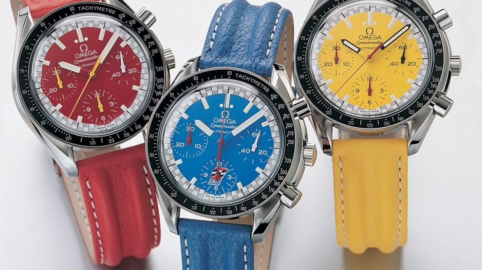 Omega Speedmaster Racing Schumacher 1996