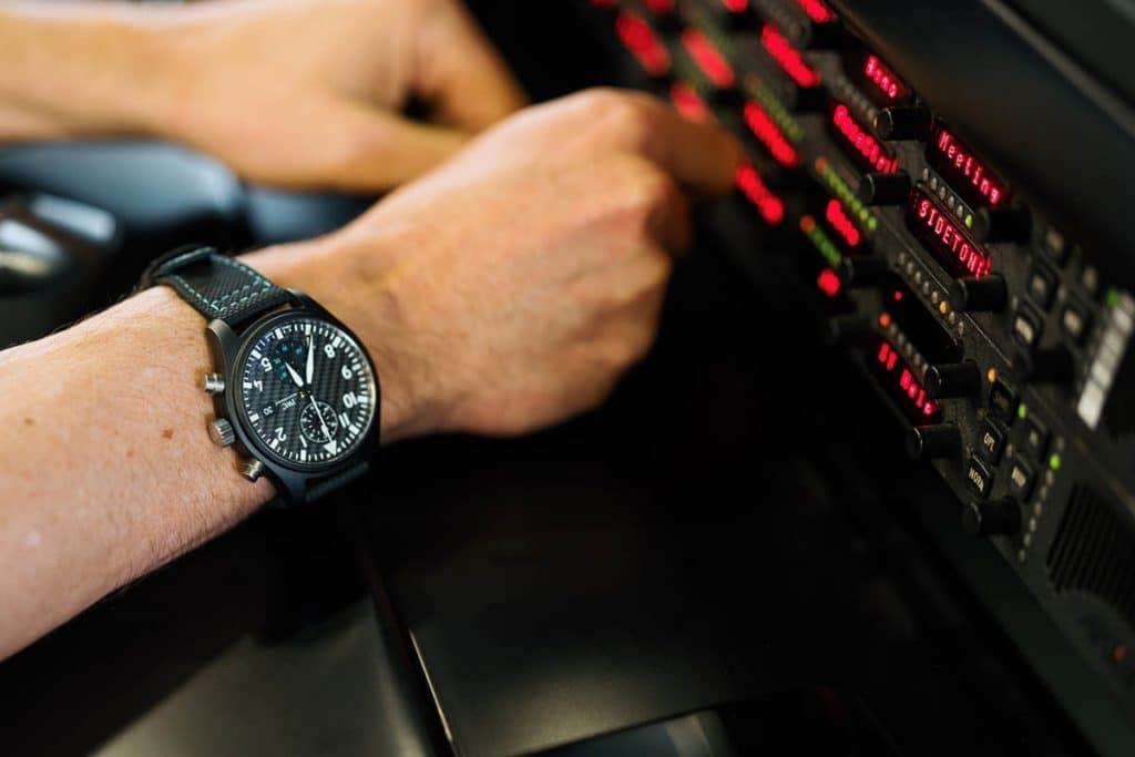 IWC Montre d'Aviateur Chronographe Édition « Mercedes-AMG Petronas Motorsport »