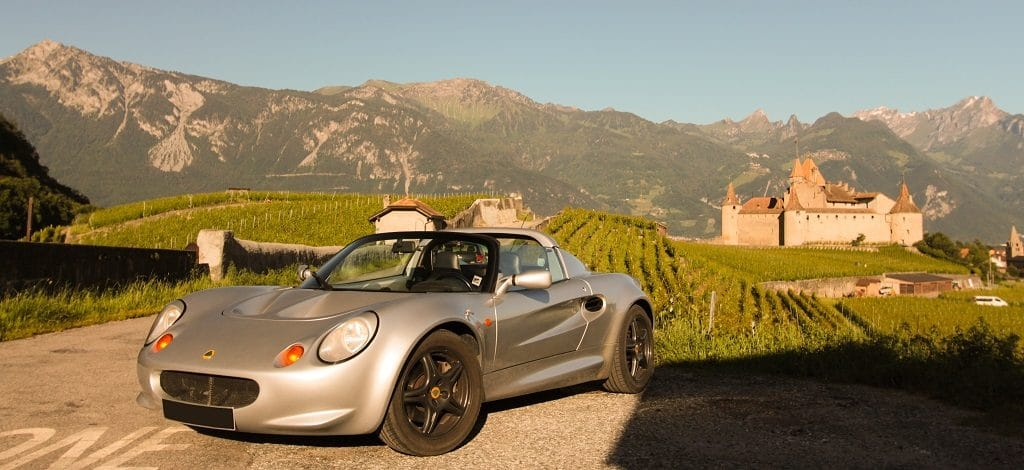 Lotus Elise S1 120 ch (1998)