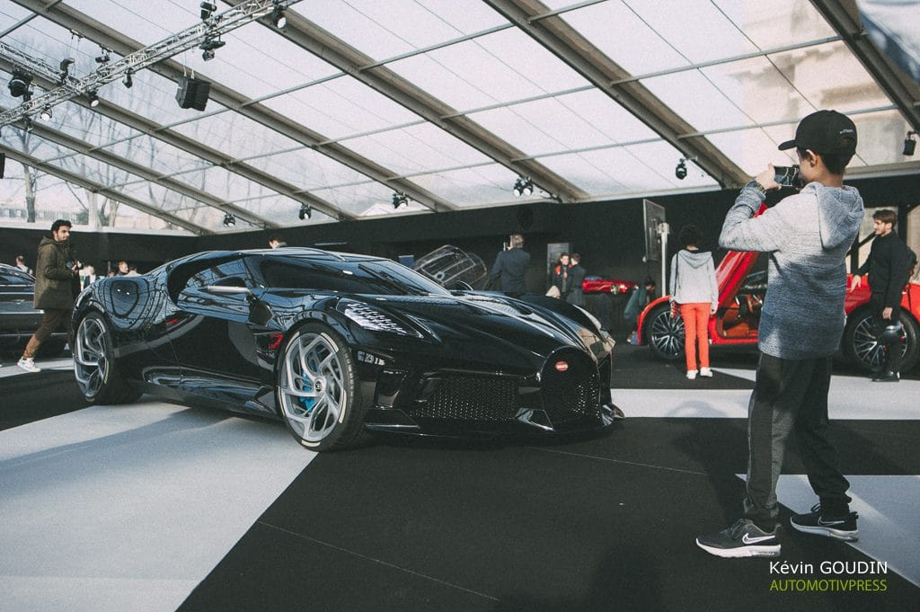 Bugatti La Voiture noire - Festival Automobile International 2020 - Kevin Goudin