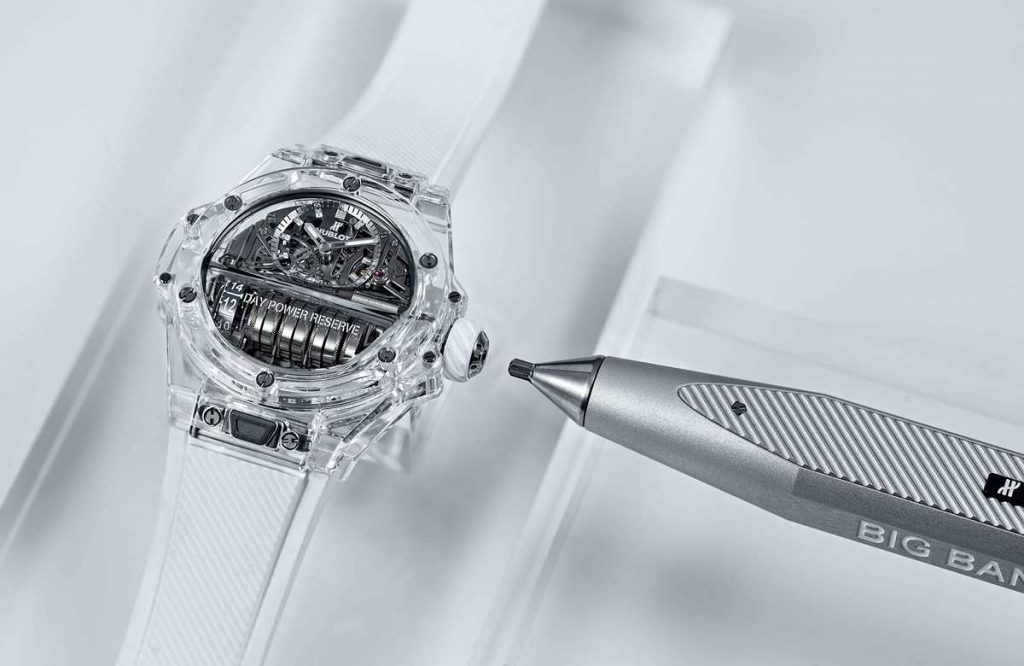 Hublot Big Bang MP-11 Saphir et son stylet à empreinte Torx