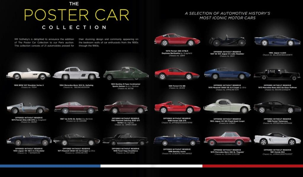 Poster Car Collection