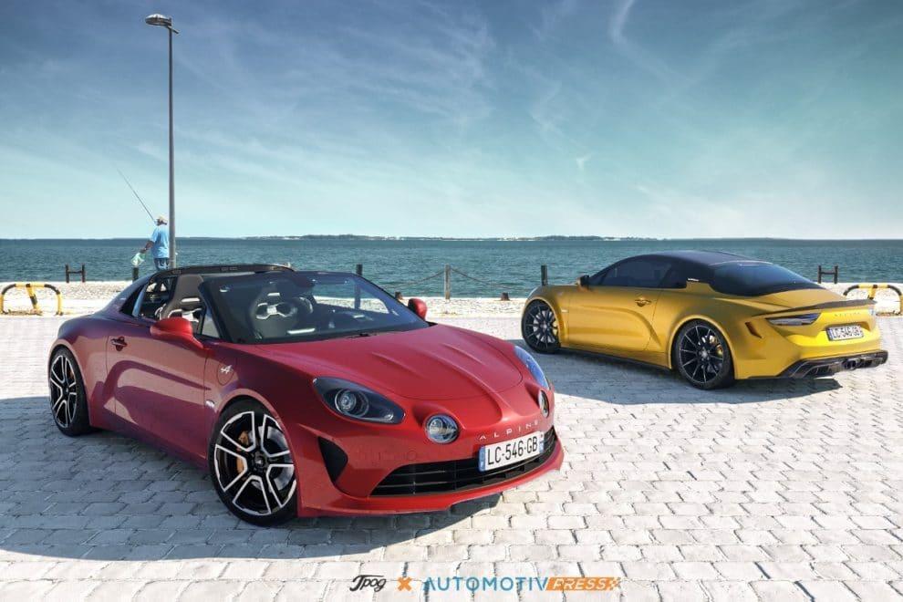Alpine A110 Targa et A110 R
