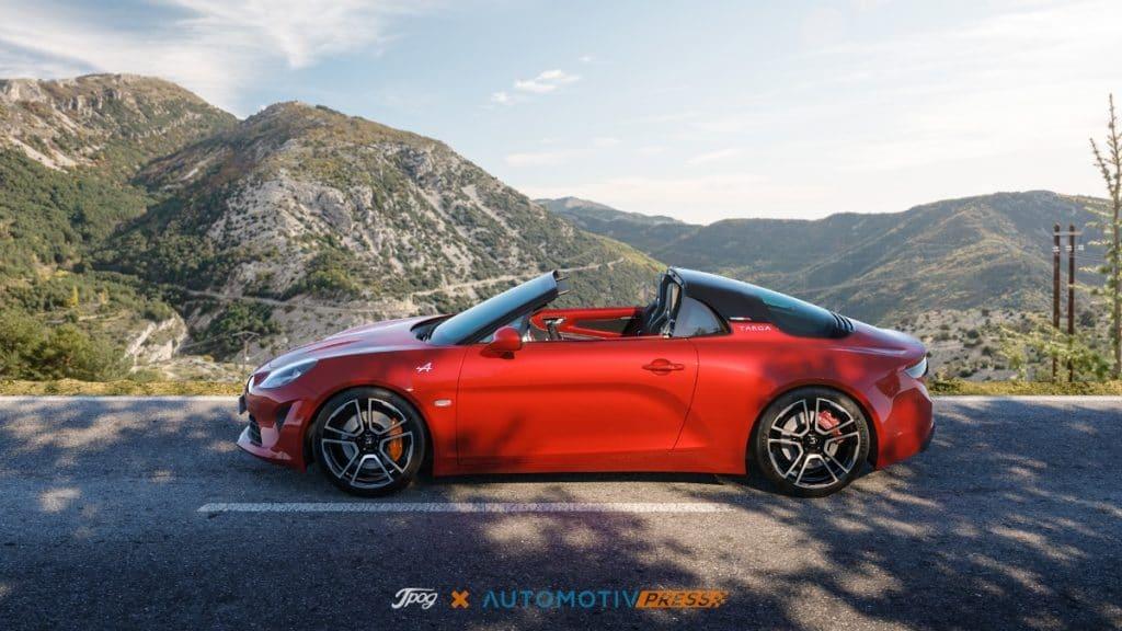 Alpine A110 Targa