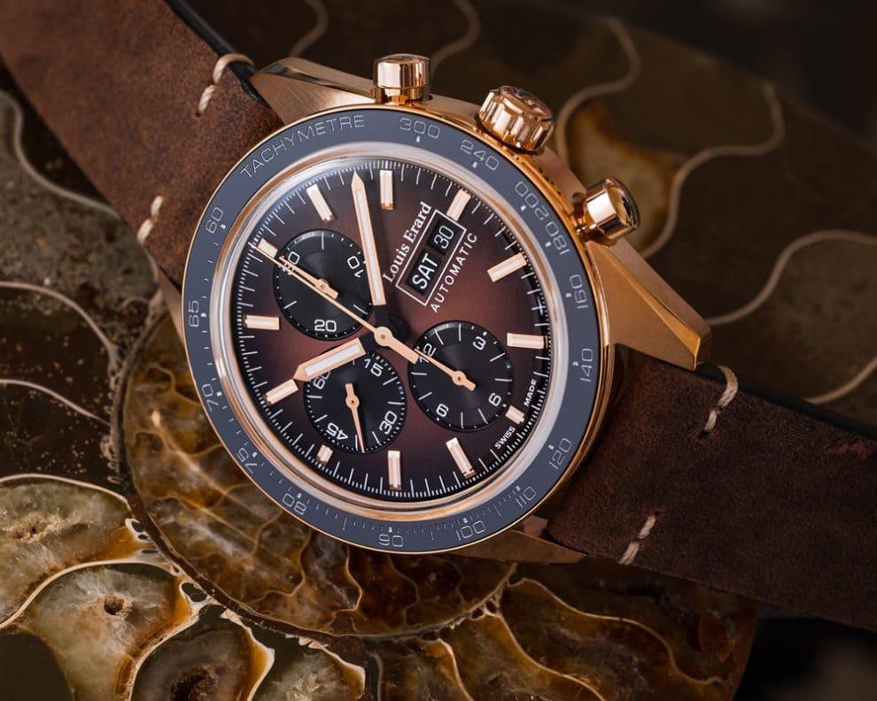 Louis Erard La Sportive Limited Edition Titanium et Bronze
