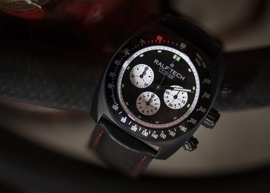 "Ralf Tech WRV Chronographe Automatique ""Skoda RS series"""