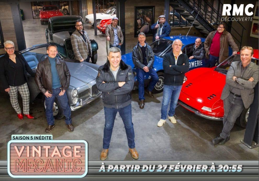 Vintage Mecanic Saison 5