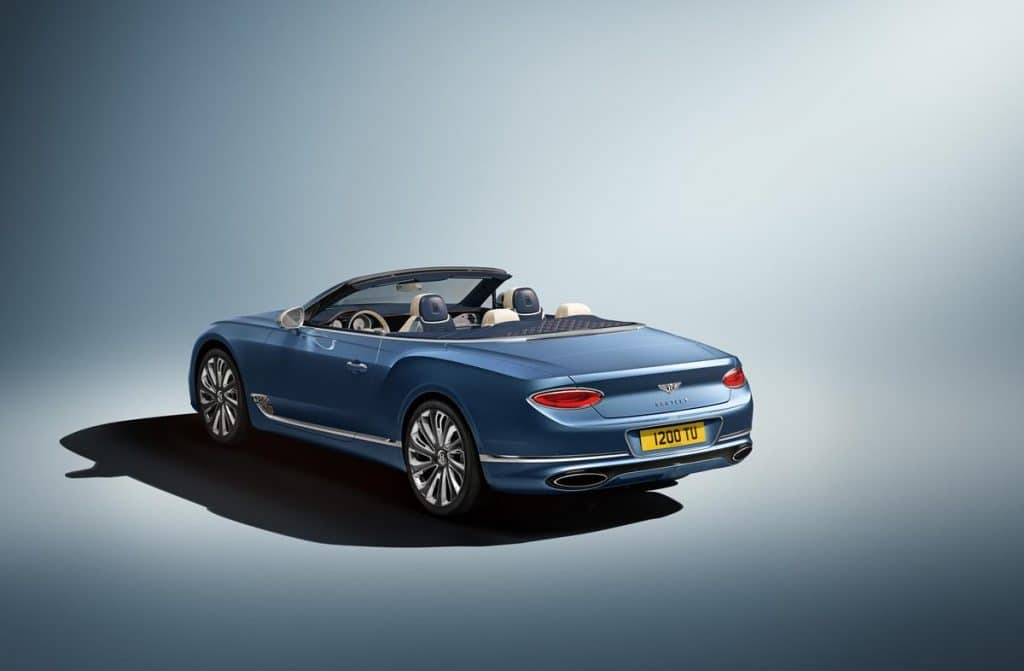 Bentley Continental GT Mulliner Convertible (2020)