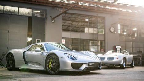 Porsche 918 et 718 RS 60 Spyder