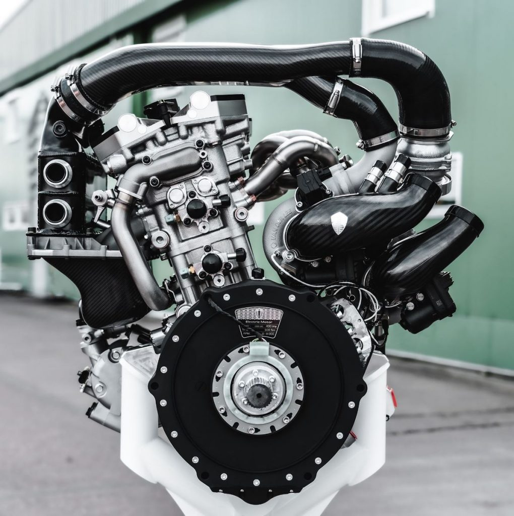 Koenigsegg Freevalve engine TFG