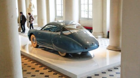 Exposition Concept-Car beauté pure - Château de Compiègne