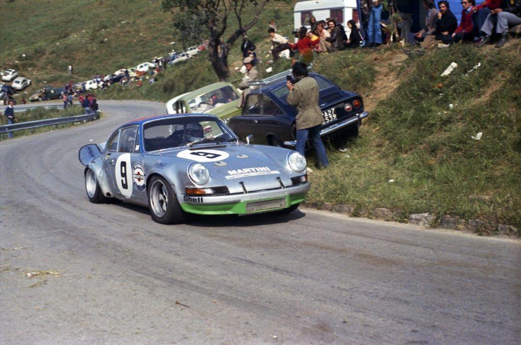 1973 Targa Florio Porsche 911 Carrera RSR