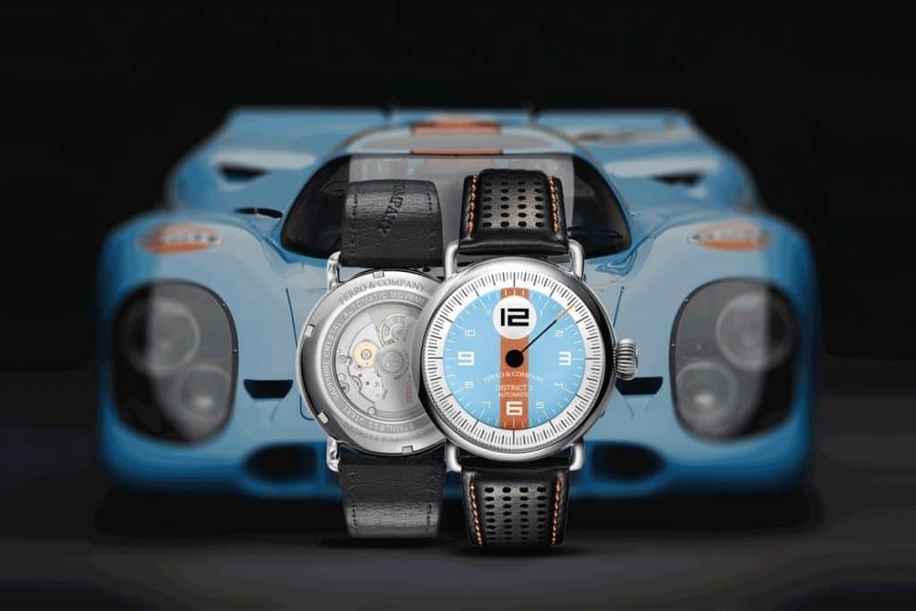 """Ferro & Company Distinct 3 """"Gulf Le Mans"""""""