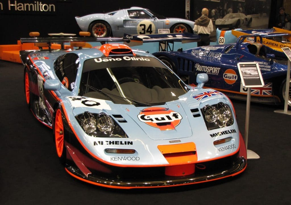 McLaren F1 GTR Long Tail - Retromobile - R. Solnon