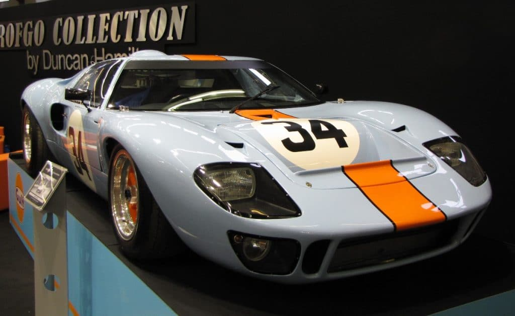 Ford GT 40 - Retromobile - R. Solnon