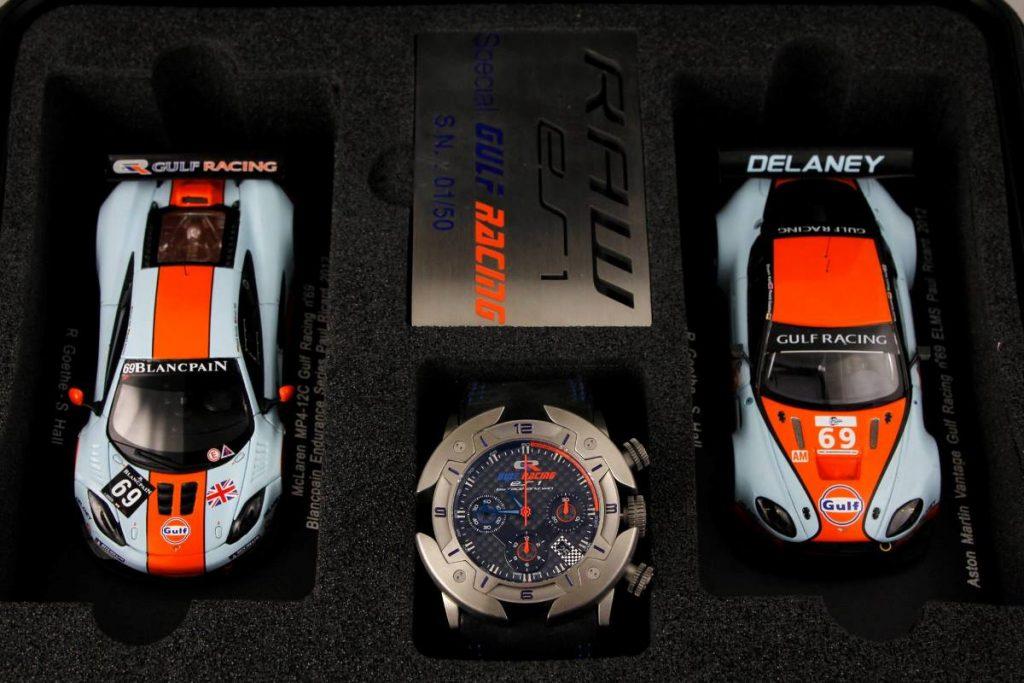 RAW ES1 special Gulf Racing
