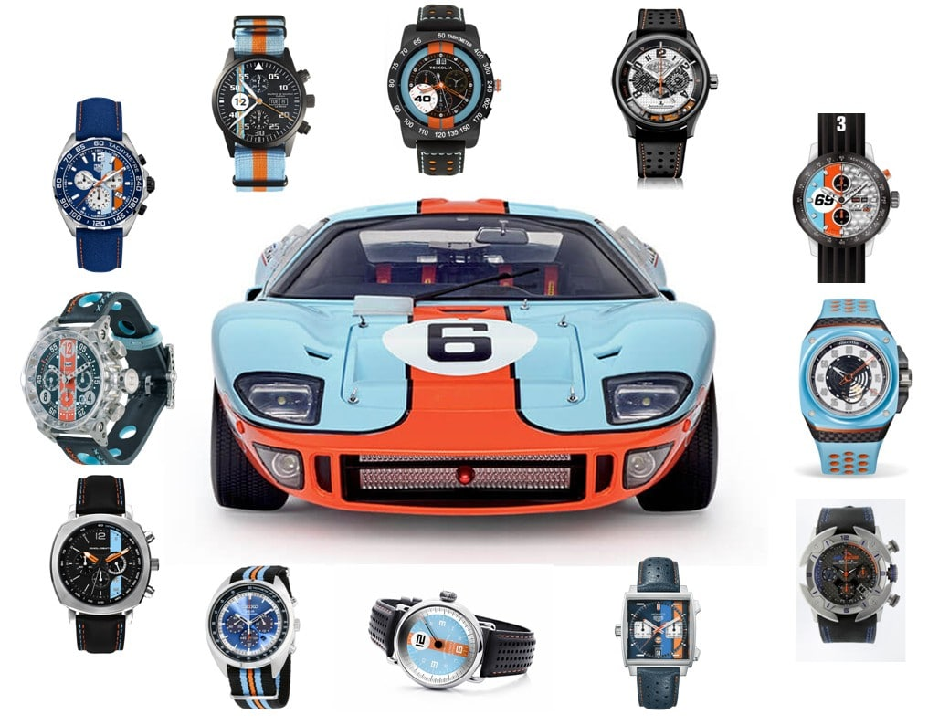 Gulf (Stream) Racing horloger