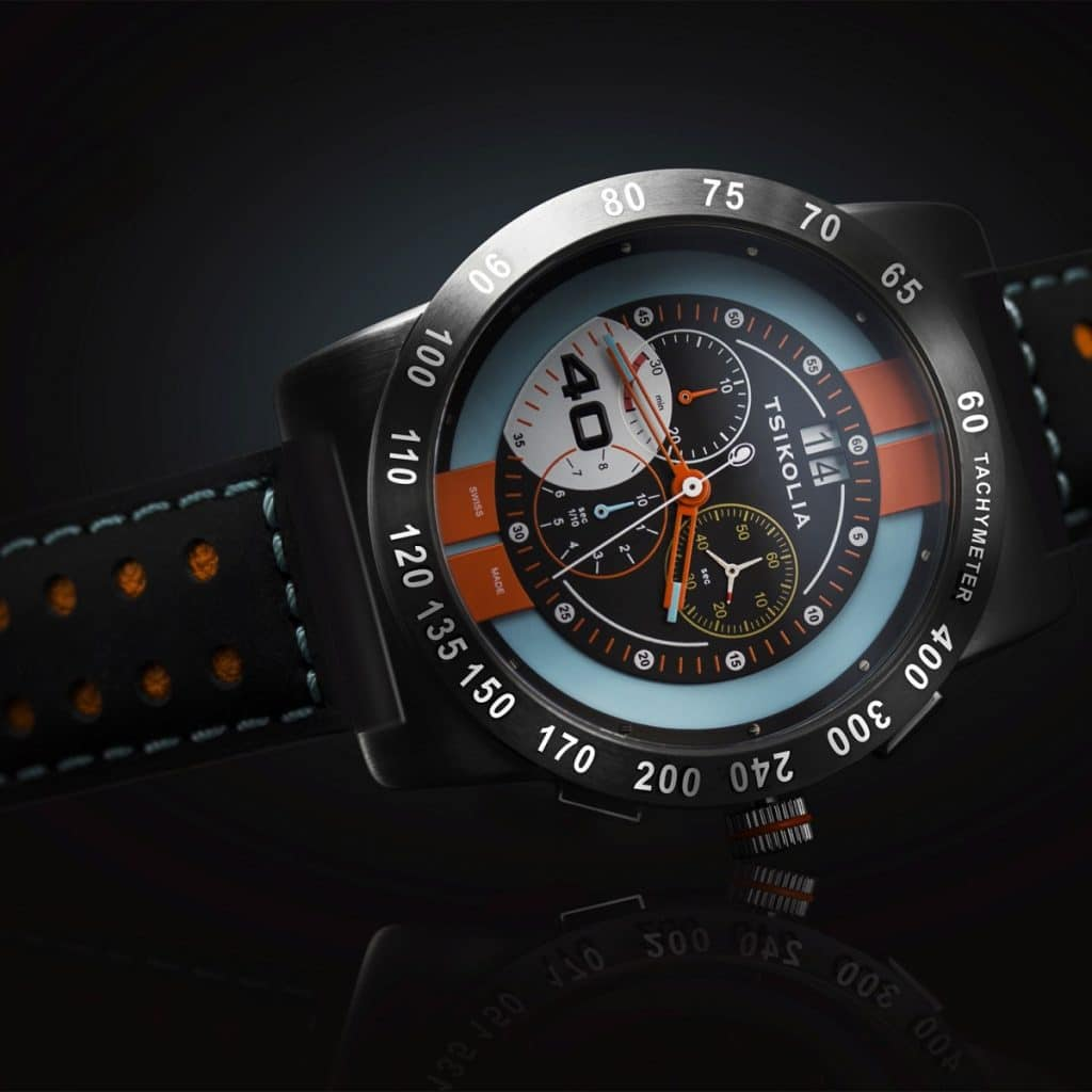 Tsikolia GT40 Racing Chronograph