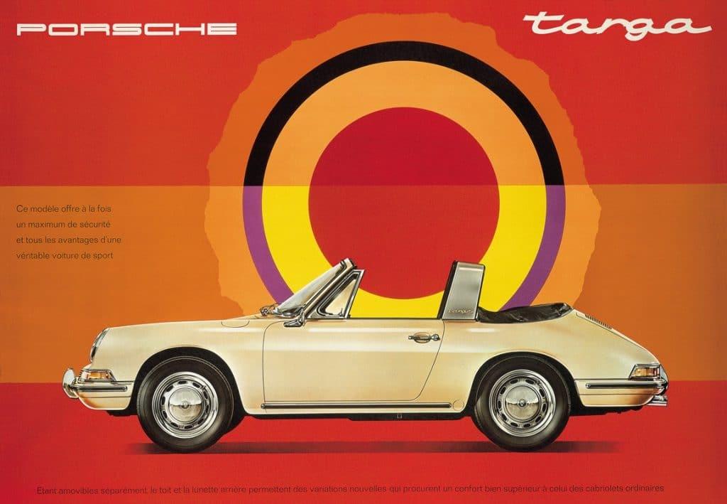 Porsche 911 Targa brochure