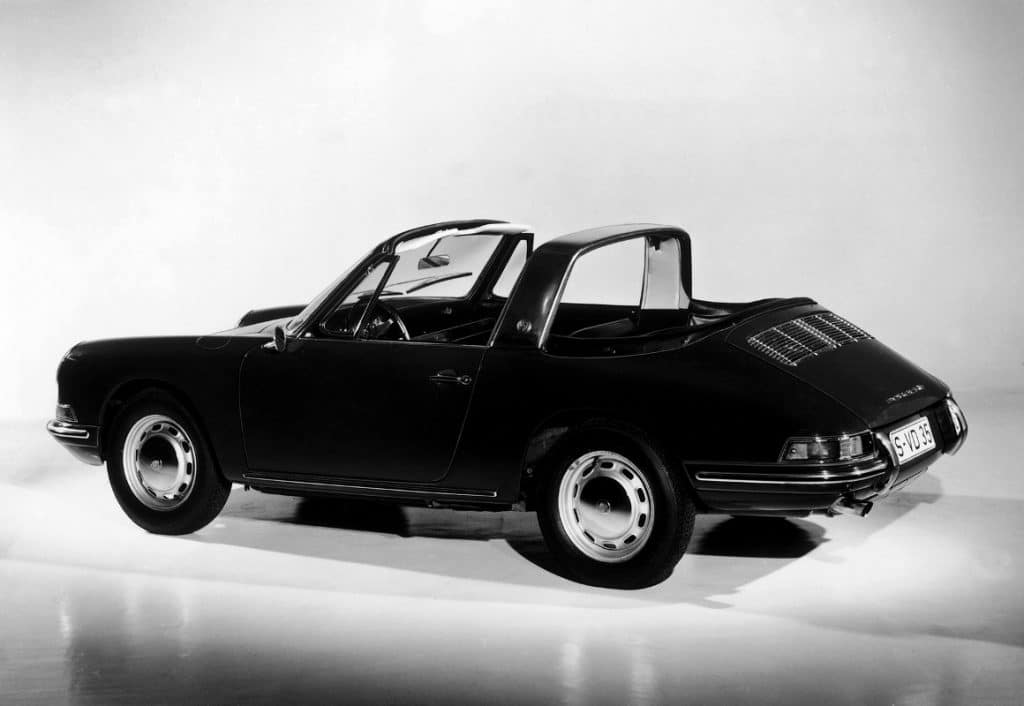 Porsche 911 Targa prototype