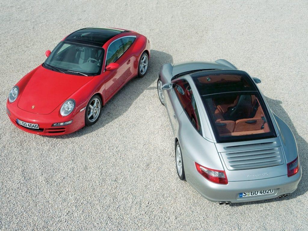 Porsche 911 997 Targa