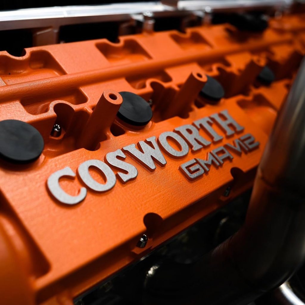 Gordon Murray T50 engine