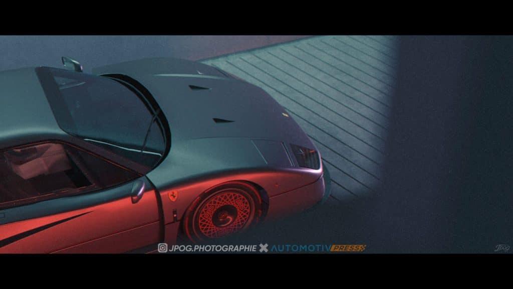 Ferrari F40 Longtail (coda lunga)