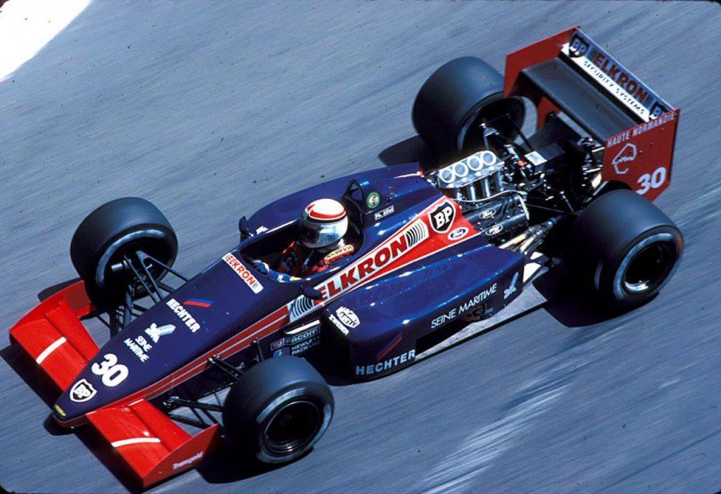 Lola LC87 Ph. Alliot - GP Monaco 1987