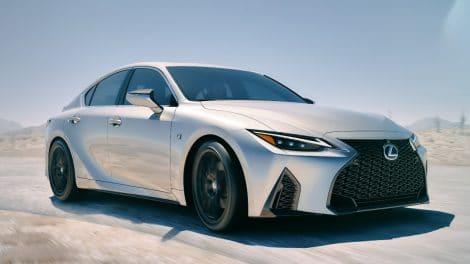 Lexus IS 350 F Sport (2021)