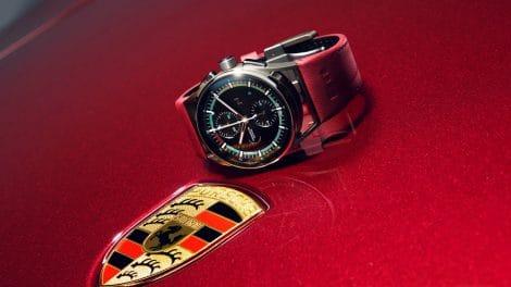 Porsche Design Timepieces Chronographe 911 Targa 4S Heritage Design Edition