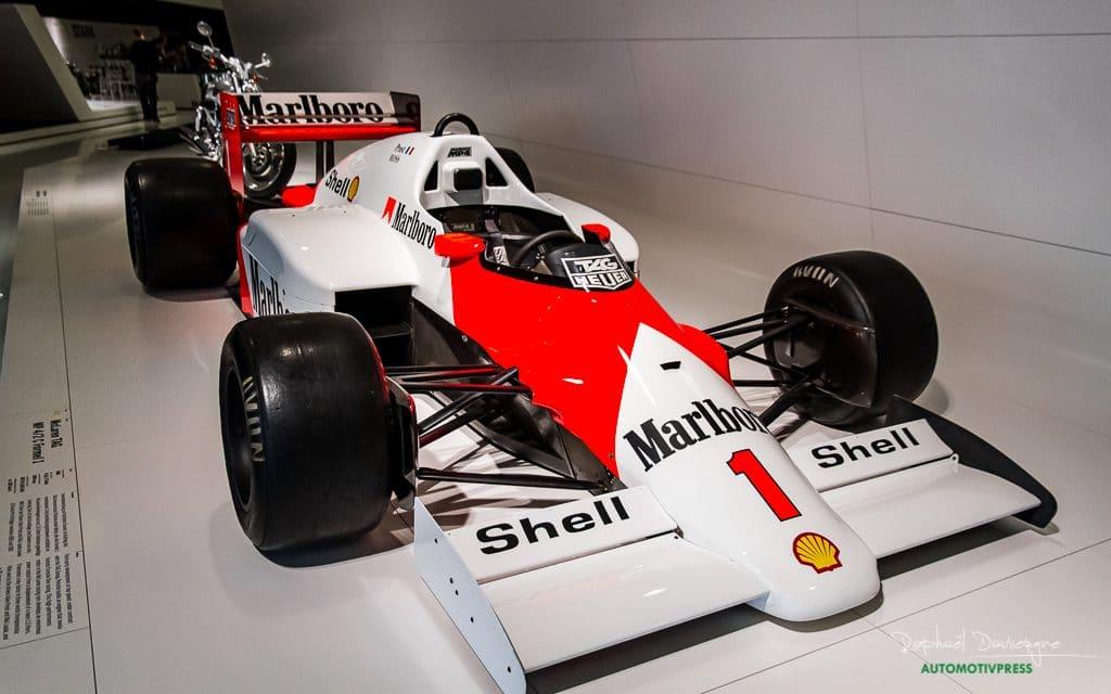 McLaren MP4-2 TAG Porsche