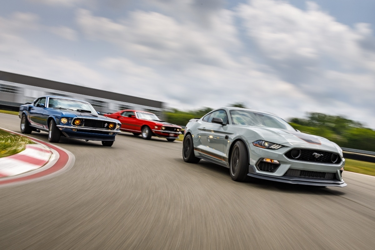 Ford Mustang Mach 1 (2020) : « Well done Chuck ...