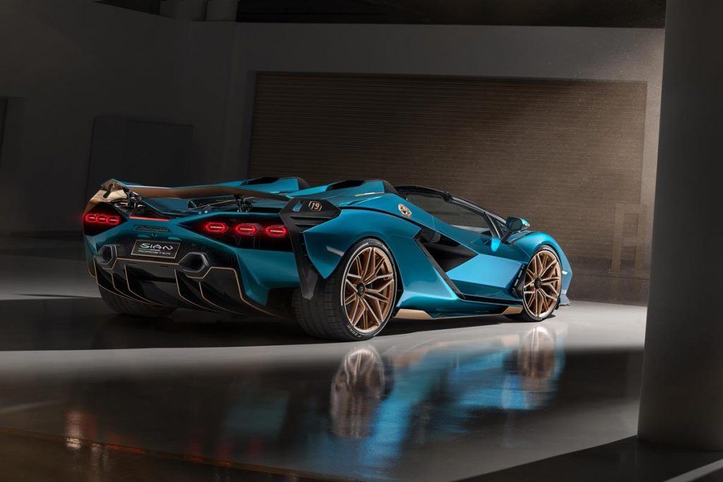 Lamborghini Sián Roadster