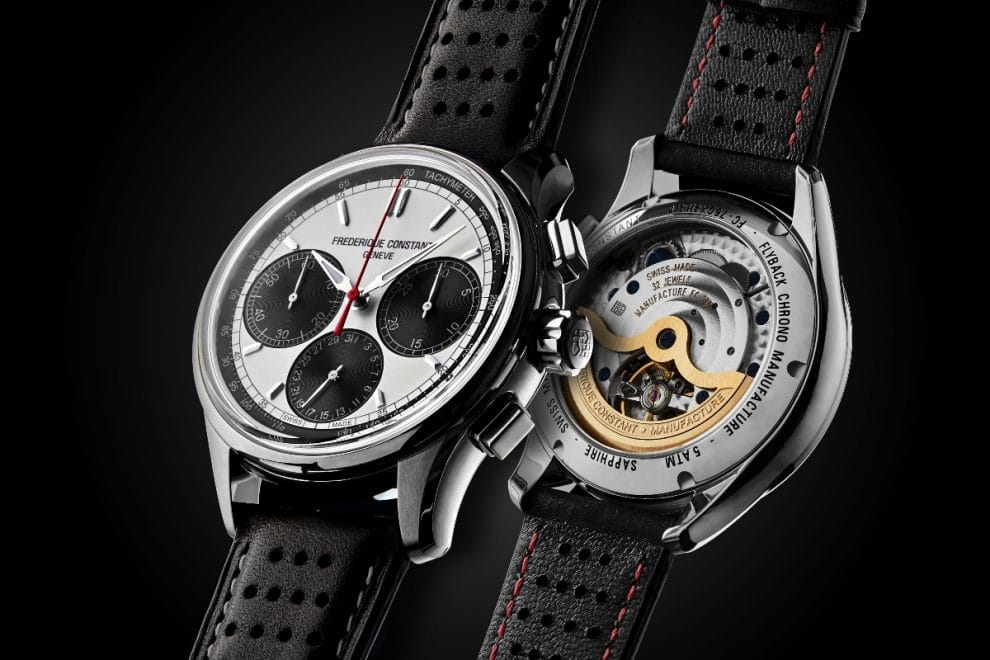 Frederique Constant Chronographe Manufacture Flyback Panda