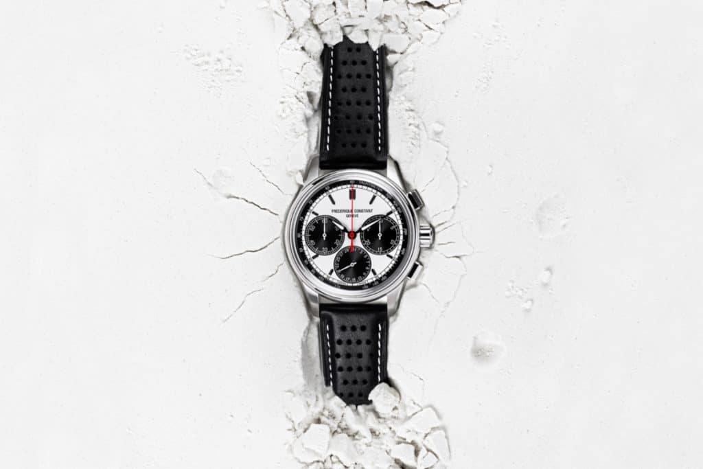 Frederique Constant Chronographe Manufacture Flyback Panda