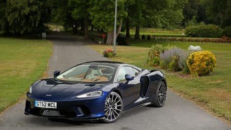 McLaren GT, avant.
