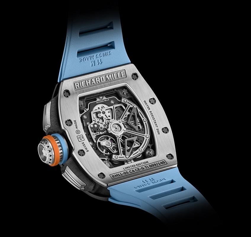 Richard Mille RM 11-05 Automatique Chronographe Flyback GMT (2020)