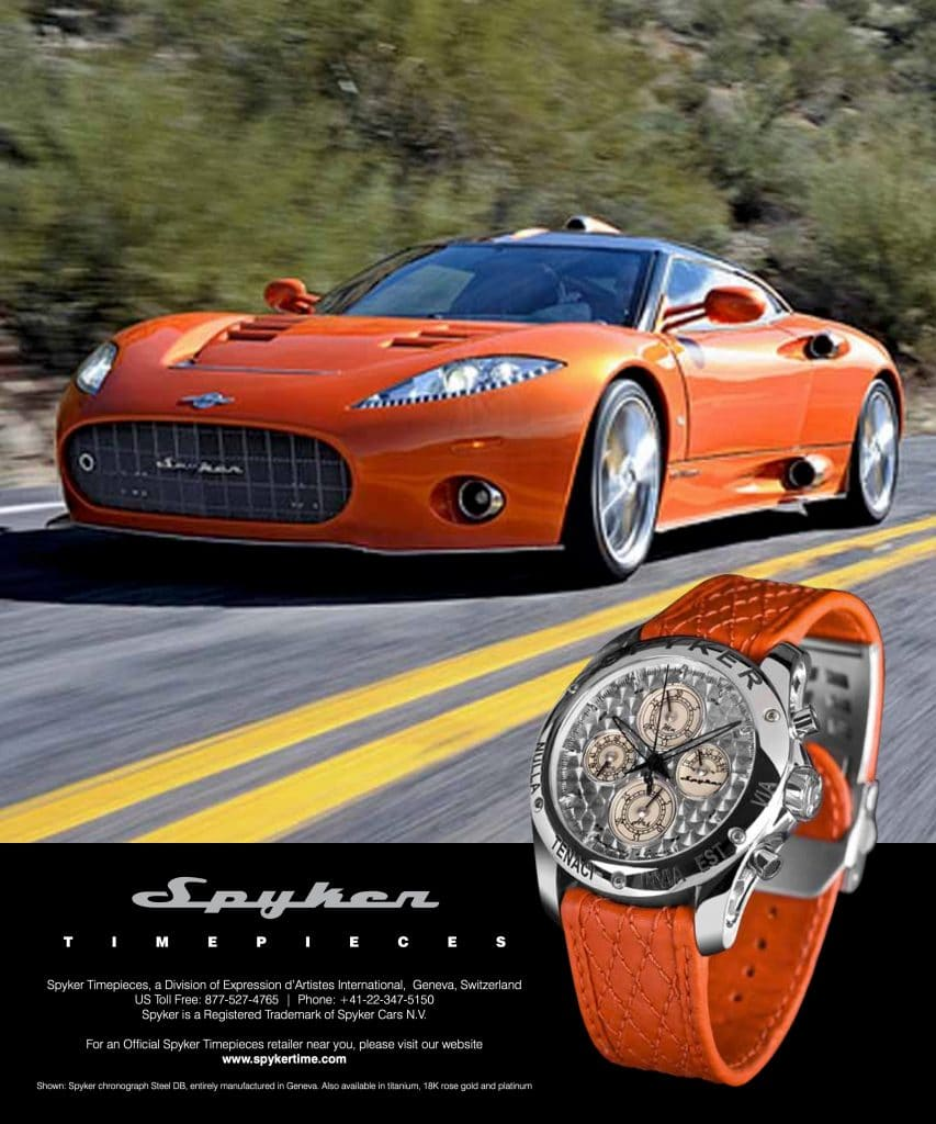 Spyker Timepieces