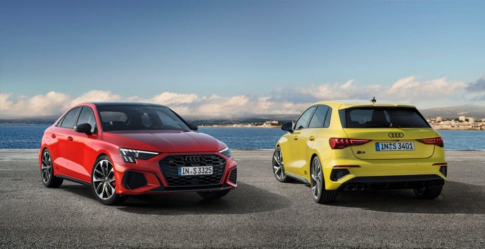 Audi S3 Sportback et Berline (2020)