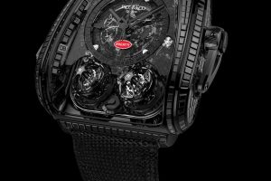 "Jacob & Co. Twin Turbo Furious Bugatti ""La Montre Noire"""